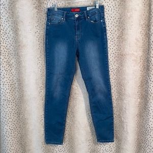 Guess high rise skinny jegging